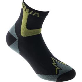 La Sportiva Ultra Running Socks, negro/verde